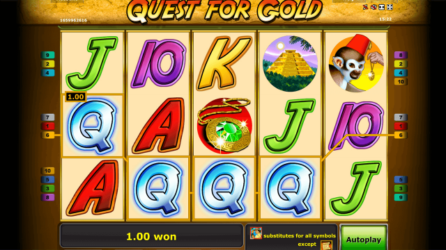 Quest for gold 10