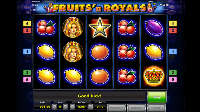 Fruits and Royals 7