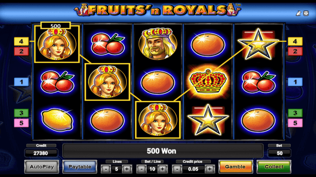 Fruits and Royals 9