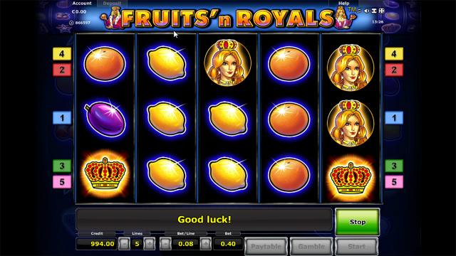 Fruits and Royals 2
