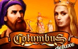 Игровой бюро Columbus Deluxe на казино Vulcan Deluxe иллюстрация логотип