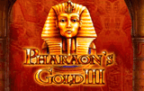 Игровой штат Pharaoh's Gold III с онлайн автоматов 077 на Вулкан казино лубок логотип